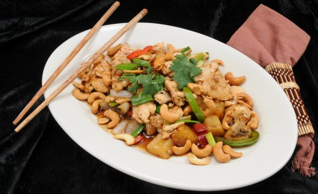 45 Cashew Chicken